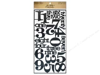 Tim Holtz Idea-ology Alpha Parts Numeric
