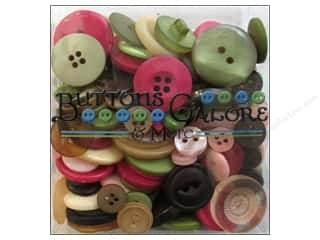 Buttons Galore Theme Button Tote 3.5oz Rose Garden