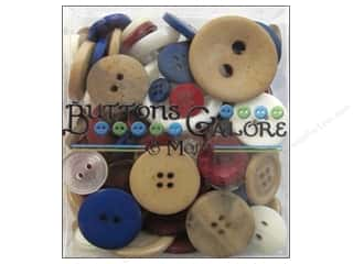 Buttons Galore Theme Button Totes 3.5oz Patriot