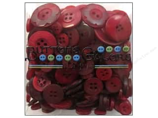 Buttons: Buttons Galore Button Totes 3.5 oz. Classic Red
