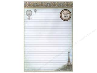 Gifts & Giftwrap Hot: Punch Studio Memo Pad Balloons Over Paris
