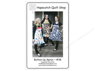 Quilted Button, The Kitchen: Hopscotch Quilt Shop Button Up Apron Pattern