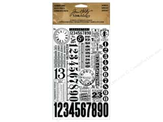 Tim Holtz Idea-ology Remnant Rubs Numbers 2pc