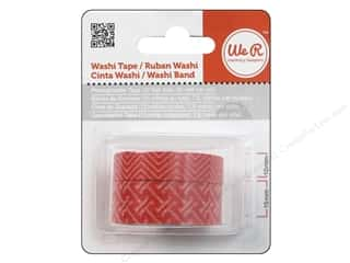 We R Memory Washi Tape 10mm & 15mm Assorted Pomegranate