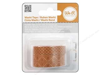 We R Memory Washi Tape 10mm &amp; 15mm Assorted Pumpkin