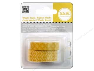 Weekly Specials Clover Kanzashi Flower Maker: We R Memory Washi Tape 10mm & 15mm Assorted Butter