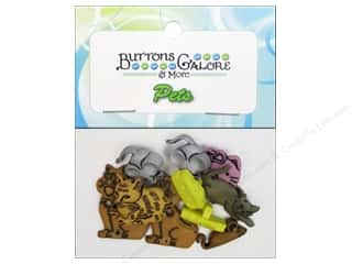 Buttons Galore Theme Pets Cat N Mouse