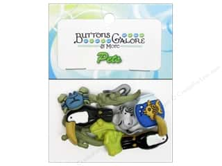 Buttons Galore & More Animals: Buttons Galore Theme Buttons Exotic Pets