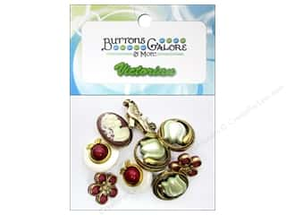 Flowers Buttons: Buttons Galore Theme Buttons Victorian Treasures
