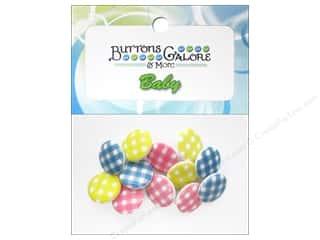 Buttons Sew-on Buttons: Buttons Galore Theme Buttons Baby Plaid
