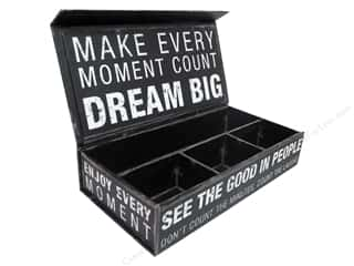 Punch Studio Organizer Pencil Box Inspired Words