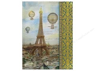 Note Cards Vacations: Punch Studio Journal Balloons Over Paris