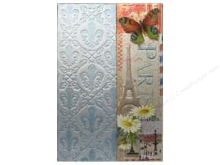 Clearance Pine Ridge Art List Pads: Punch Studio Journal Mini Metallic Paris Patchwork