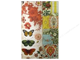Clearance Pine Ridge Art List Pads: Punch Studio Journal Mini Metallic Flower Pattern