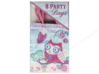 Punch Studio Party Bags Owlettes 8 pc.