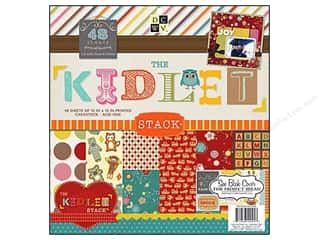 2013 Crafties - Best Scrapbooking Supply DieCuts Paper Stacks: Die Cuts 12 x 12 in. Paper Stack Kidlet