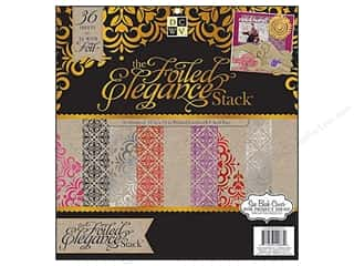 DieCuts with a View Vellum & Specialty Papers: Die Cuts With A View 12 x 12 in. Paper Stack Foiled Elegance