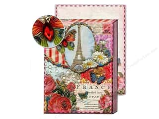 Punch Studio Pocket Note Pad Patchwork France