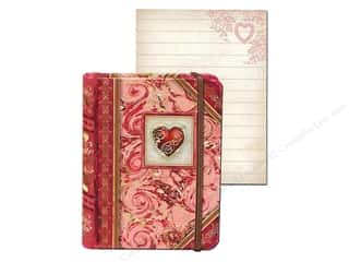 Punch Studio Pocket Book Tiny Pink Heart (2 sheets)