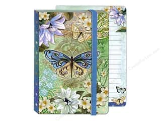 Punch Studio Journal Blue Green Butterfly