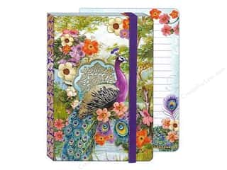 Elastic $4 - $12: Punch Studio Journal Peacock