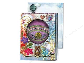 Punch Studio Pocket Note Pad Window Hot Air Balloon (2 sheets)