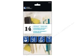 Loew Cornell Machine Lint Brushes: Loew Cornell Spongit Value Set 14 pc.