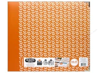 We R Memory Keepers paper dimensions: We R Memory Keepers 3-Ring Album 12 x 12 in. Albums Made Easy Tangerine