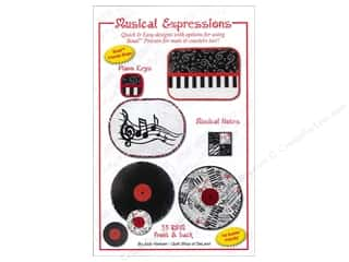 Books Music & Instruments: Quilt Shop of DeLand Musical Expressions Pattern by Judy Hansen