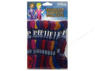 Floss Kid Crafts: Prism Floss Pack Six Strand Sparklers 24pc