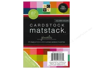 DieCuts Mat Stacks 4 1/2 x 6 1/2 in. Textured Jewels