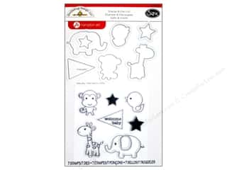 Sizzix Die Doodlebug Framelits Stamp Baby Boy