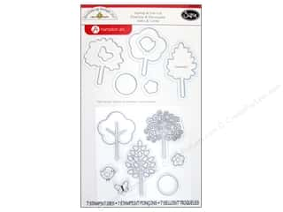 Sizzix Framelits Die Set wtih Stamps Hello Spring