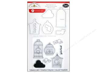 Sizzix Die Doodlebug Framelits Stamp Simply Tweet