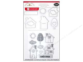 Sizzix Framelits Die Set 9PK with Stamps Welcome Home