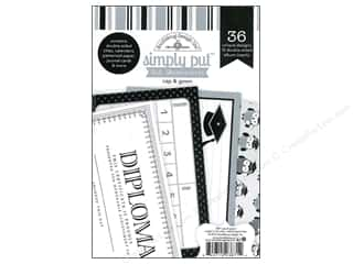 Doodlebug Album Inserts 4x6 Cap &amp; Gown