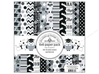 Doodlebug Paper Pack 6x6 Cap &amp; Gown