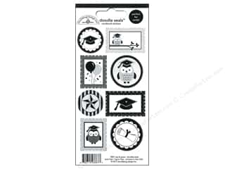Back to School: Doodlebug Sticker Doodle Seals Cap & Gown