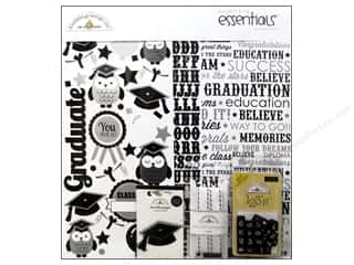Weekly Specials Collection Kit: Doodlebug Kit Essentials Paper Cap &amp; Gown