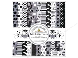 Doodlebug Paper Pack 12x12 Cap &amp; Gown