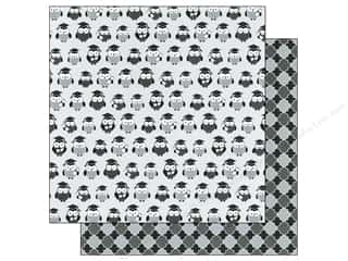 Back to School: Doodlebug Paper 12x12 Cap & Gown Wise Guys (25 piece)
