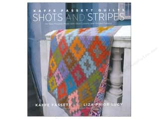 Books Blue: Stewart Tabori & Chang Kaffe Fassett Quilts Shots And Stripes Book by Kaffe Fassett and Liza Prior Lucy