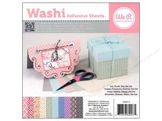 Weekly Specials Graphic 45 Paper Pad: We R Memory Washi Adhesive Sheet Pad 6x6