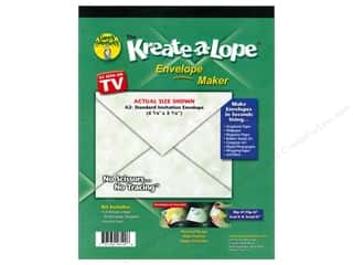 Green Sneakers Kreate-A-Lope Template A2 Envelope