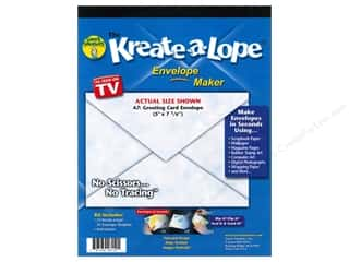 Green Sneakers Kreate-A-Lope Template A7 Envelope
