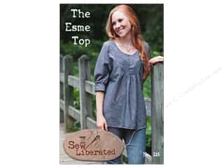 Sewing Construction paper dimensions: Sew Liberated The Esme Top Pattern