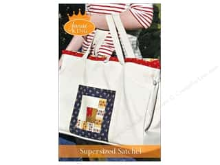 Cico Books $16 - $24: Janae King Designs Supersized Satchel Pattern