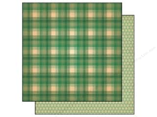 Plaid Length: Cosmo Cricket 12 x 12 in. Paper Honky Tonk Campfire Coffee (12 pieces)