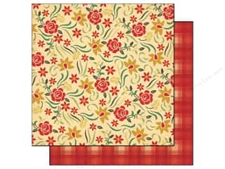 Plaid Length: Cosmo Cricket 12 x 12 in. Paper Honky Tonk Rose Garden (12 pieces)