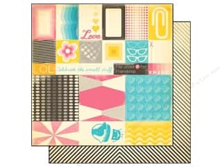 Everything You Love Sale Graphic 45 Paper Pad: Cosmo Cricket 12 x 12 in. Paper Summer Love Crush (12 piece)